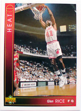 CARTE  NBA BASKET BALL 1994  PLAYER CARDS GLEN RICE (25)