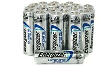 50 x Energizer AA Ultimate Lithium Batteries 1.5v LR6 L91 Expiry 2027