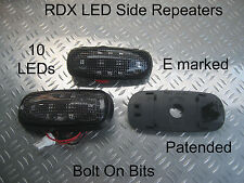RDX LED DARK side repeaters LandRover Defender 1998 to 2016 Td5 & Tdci ONLY