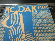 JOHN SAVILLE KODAK DEALER YORK ART DECO FOLDER FOLIO  CAMERA PHOTOGRAPHER y