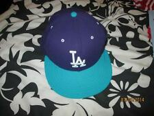 BLUE AND PURPLE LA NEW ERA CAP SIZE 7 1/8  FREE P+P