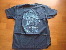TITANFALL DARKBLUE    T-SHIRT NEW RETRO shirt SZ XXL 2XL