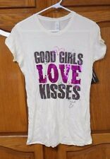 "Next Level ""Good Girls Love Kisses"" Short Sleeve T-Shirt Size XL New with Tags"
