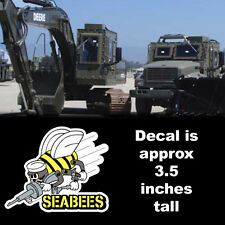 navy seabees sticker car decal *free shipping