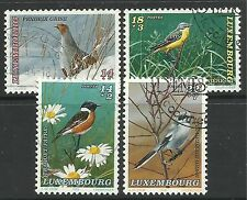 LUXEMBOURG. 1994. National Welfare Fund (Birds) Set. SG: 1383/86. Fine Used.
