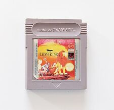 Game / Juego El Rey León Nintendo Game Boy (Original) (Eur) (GB)