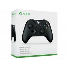 Official Microsoft Black Wireless Controller Xbox One V2 (2016 Model) Brand New