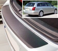 Toyota Avensis MK2 Estate - Carbon Style rear Bumper Protector