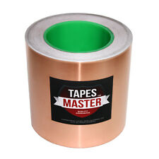 """6"""" x 36 yds (152mmx33m) Copper Foil Tape /EMI Conductive Adhesive /Ship from USA"""