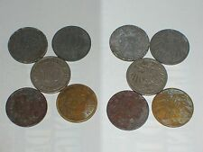010c Imperio alemán 5 x 10 peniques 1911 - 1940