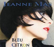 ++++ CD ALBUM Jeanne MAS Bleu Citron CD Rock&Movies 2011 + ULTRA RARE +