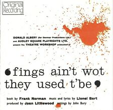 Soundtrack - Fings Ain't Wot They Used T'be. Original London Cast
