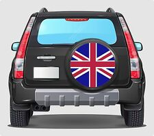 Spare Wheel Cover 4x4 Graphic Sticker UNION JACK UK FLAG 55CM ANY FLAT SURFACE