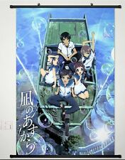 Home Decor Japanese Wall Scroll Poster Nagi no Asukara Japan Anime Whole roles
