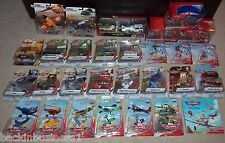 DISNEY-PIXAR-CARS-PLANES-LOT OF 40-FIRE & RESCUE,JETS,MICRO DRIFTERS,DELTA,BOOK!
