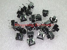 100PCS Momentary Tactile Push Button Switch Tact Switch 6X6X6mm 4-pin DIP-4