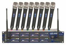 Vocopro UHF-8800 8 Channel Rack Mount Karaoke Wireless Microphone System