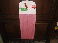 CURIOUS GEORGE DIAPER STACKER RED AND WHITE