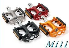 """Wellgo M-111 9/16"""" MTB Pedals - red"""