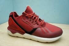 Adidas Originals Mens Size 7 UK Tubular Power Red & White Running Gym Trainers