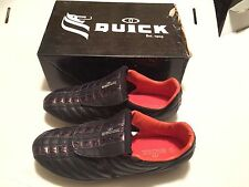 Vintage Dutch Quick D.Qsta FG Soccer Cleats US 11.5/12 30cm Netherlands Orange