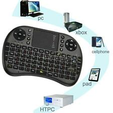 2.4G Mini Built-in Russian/English Wireless keyboard & Fly Air Mouse Black F7M2