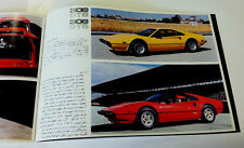 Ferrari Original 1977 308 Brochure #147/77 Algar Ferrari On Sale Now !!!