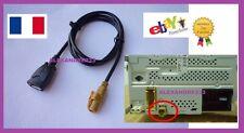 Cable AUXILIAIRE USB POUR VW RCD300 RCD510 - VENDEUR PRO - ENVOI EN SUIVIE