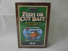 NEW Fish or Cut Bait Family Game -Ages 8+ 2 or More Players Front Porch Classics