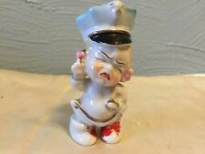 Vtg 1950's Japan Figurine Baby Girl With policemans