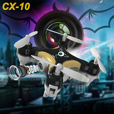 Cheerson CX-10C 2.4G 4CH 6-Axis RC Quadcopter Mini Drone RTF With 0.3MP Camera
