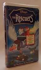DISNEY THE RESCUERS RECALLED OOP VHS NEW