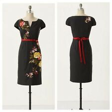 Rare Anthropologie Moulinette Soeurs Embroidered Lucillae Dress Size 0 XS $188