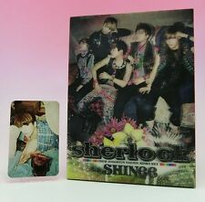 CD+DVD SHINee sherlock JAPAN Limited Edition with Photo card Jonghyun