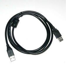 New Arrive 1pcs NEW USB 2.0 Type A to A Male to Male Cable Black 1.5m Hot sale Q
