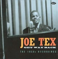 Get Way Back: The 1950s Recordings by Joe Tex (CD, Sep-2008, Ace (Label))