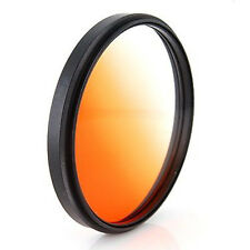 52mm Optical Gradual Coffee Lens Filter For Canon Rebel T4i T3i T3 T2i camera,US