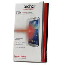 Tech21 impatto Screen Protector Shield Con Self Heal Per Samsung Galaxy S4 Nuovo