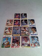 *****Rick Waits*****  Lot of 75 cards.....19 DIFFERENT