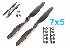 "4pcs 7x5"" 178x127mm Slow Flyer SF Electric Propeller with Adapter, US 001-00307B"