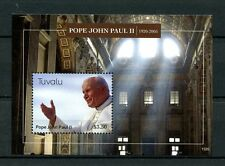 Tuvalu 2013 MNH Pope John Paul II 1920-2005 1v S/S Popes Catholic Church Stamps