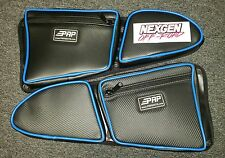 PRP Seats Door Bags 2014+ Polaris RZR 1000 TURB XP4 and 2015 + RZR 900-Blue Pair
