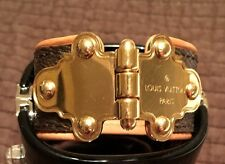 Louis Vuitton Save it Monogram Cuff bracelet