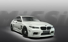 "HAMANN BMW M5 MISSION A2 CANVAS PRINT POSTER FRAMED 23.4"" x 15.4"""