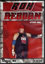Official ROH Ring of Honor - Reborn: Stage One 2004 (Pre-Owned DVD)