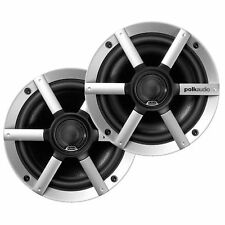 "Pair of Polk Audio MM651UM 6.5"" 2 Way Boat Marine 200W Audio Speakers 6-1/2"""