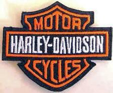 Iron On/ Sew On Embroidered Patch Badge Harly Logo HD Dave