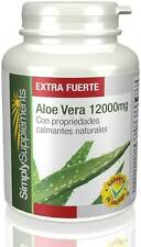 Aloe Vera 12,000mg Extra Fuerte 180 Comprimidos Simply Supplements (E593)