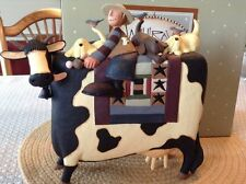 "Large Cow, Boys and Ice Cream - ""Moostly Best Friends"" - Williraye - 7892 - NIB"