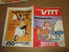 SETTIMANALE VITT N°26-LUGLIO 1967 PROCOPIO CANTAGIRO